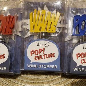Pop Culture Wine Bottle Stoppers